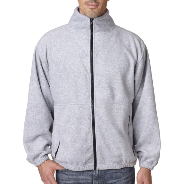 Iceberg Fleece Full-Zip Men's Grey Heather Jacket