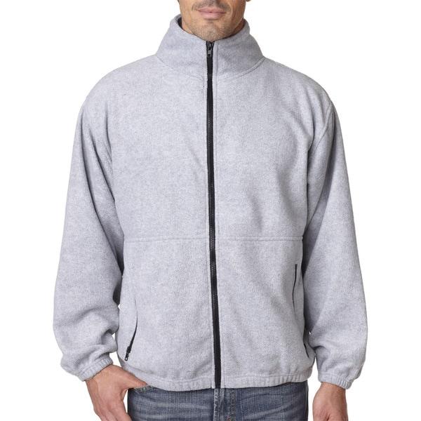 Iceberg Fleece Full-Zip Men's Grey Heather Jacket