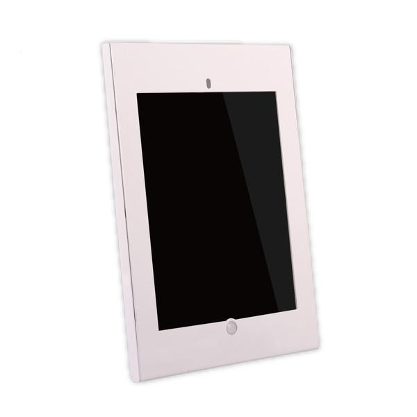Pye White Metal 12.9-inch iPad Pro Tamper-proof Anti-Theft Display Kiosk