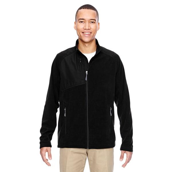 Excursion Trail Fabric-Block Fleece Men's Big and Tall Black 703 Jacket