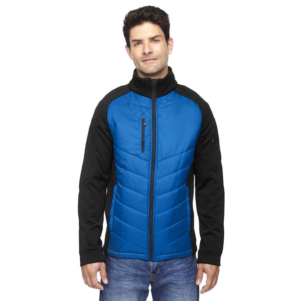 Epic Insulated Hybrid Bonded Fleece Men's Big and Tall Olympic Blue 447 Jacket