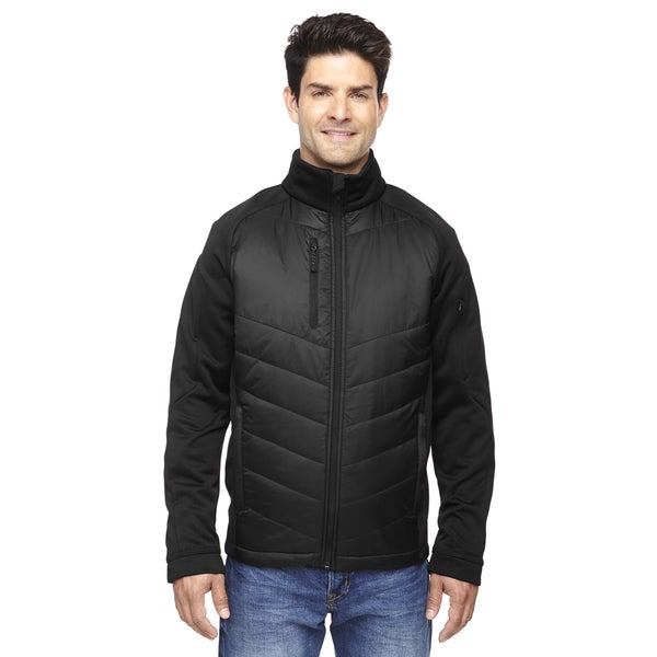 Epic Insulated Hybrid Bonded Fleece Men's Black 703 Jacket