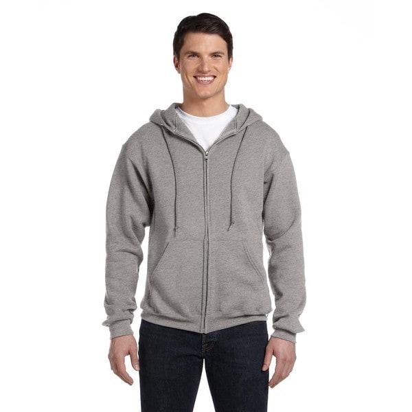 Dri-Power Men's Fleece Oxford Full-Zip Hood 20485932