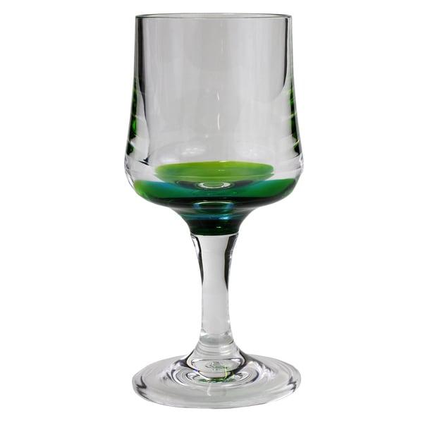 Merritt International 22148 Peacock Wine Glass