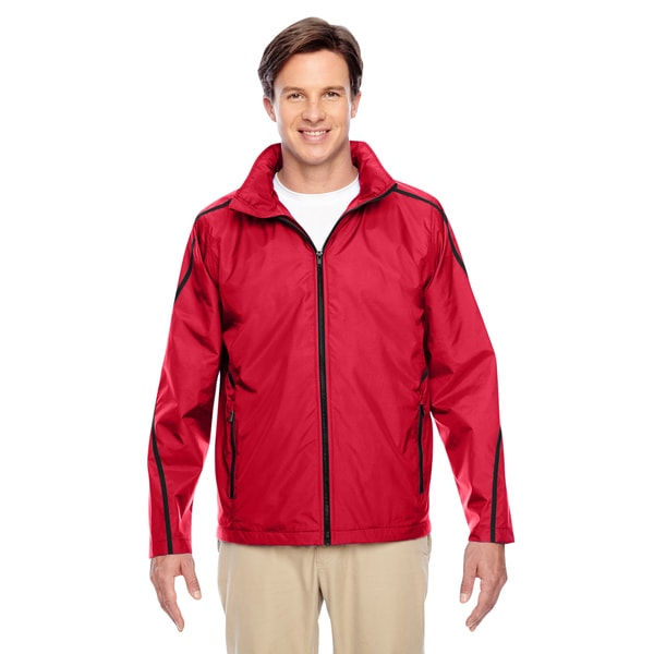 Conquest Men's Sport Red Jacket with Fleece Lining