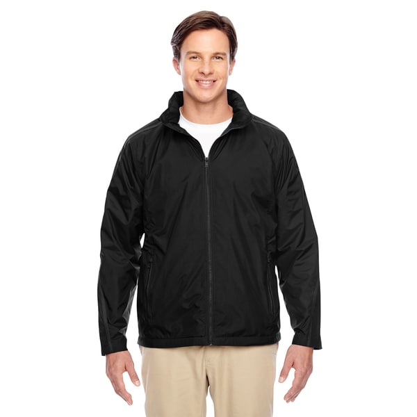 Conquest Men's Black Jacket with Fleece Lining