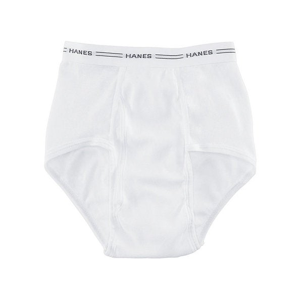 Big Man's Men's 2X-3X White Briefs (Pack of 3)