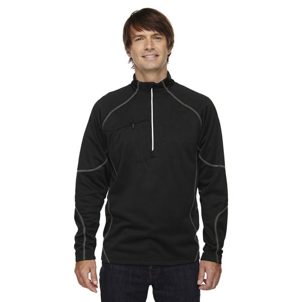Catalyst Men's Performance Fleece Black 703 Half-Zip