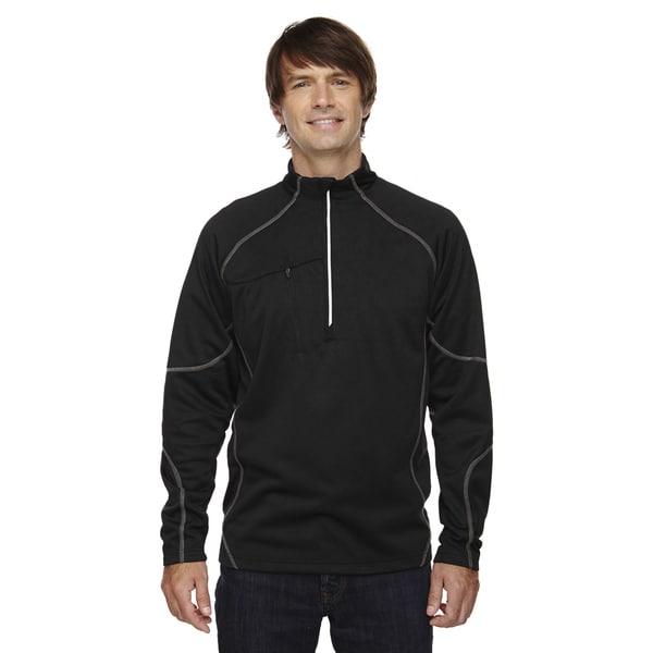 Catalyst Men's Performance Fleece Black 703 Half-Zip