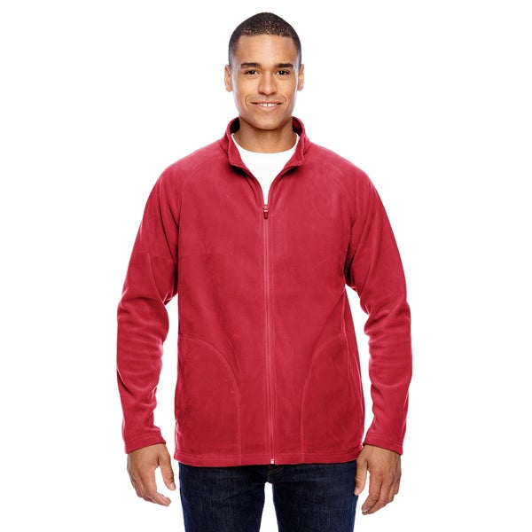 Campus Microfleece Men's Sport Red Jacket
