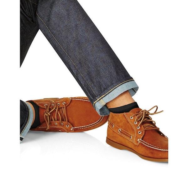 Hanes Men's Black Sizes 10-13 Cushion Ankle Socks (Pack of 6)