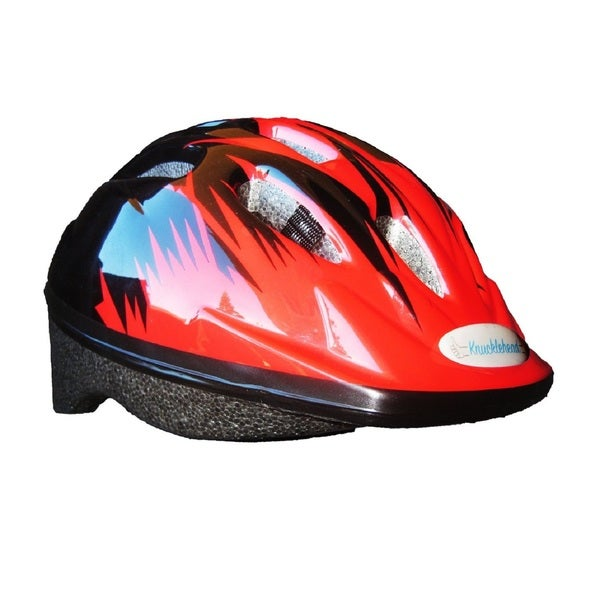 Knucklehead Runt Flame Black EPS 48-52-centimeter Toddler Helmet