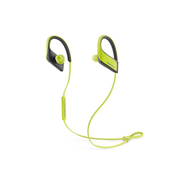 Panasonic Wings Wireless Bluetooth Earbuds with Mic and Controller (Yellow)