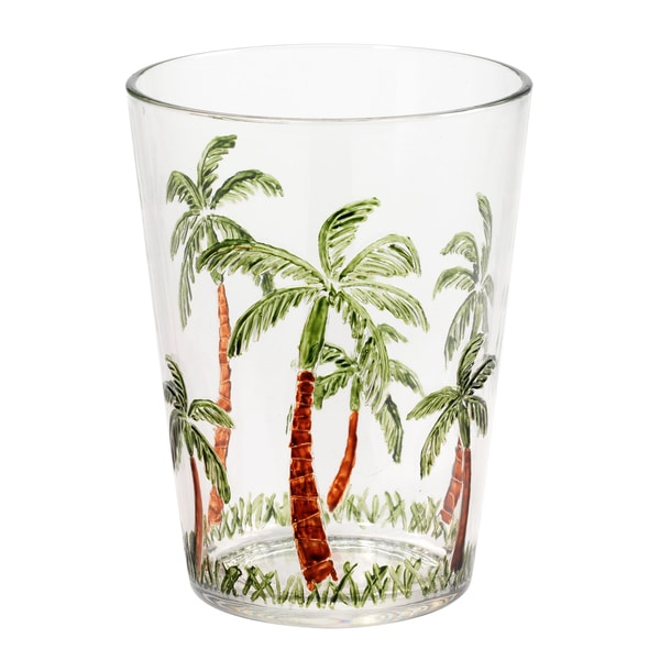 Merritt International 25400 Palm Tree Tumbler - 5 oz