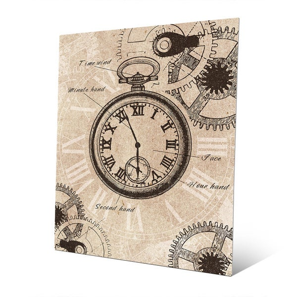 Clockwork Vintage Metal Wall Art