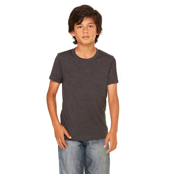 Jersey Youth Triblend Polyester Short Sleeve T-shirt