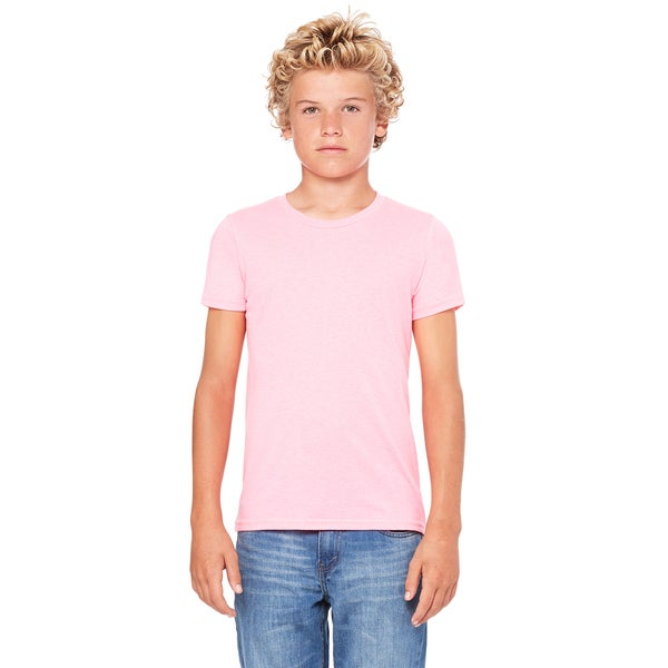 Jersey Youth Neon Pink Short-sleeved T-shirt