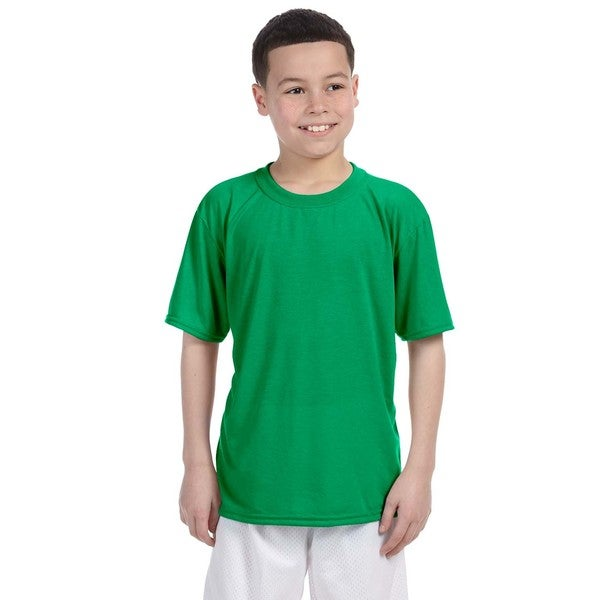 Irish Green Youth Performance T-shirt