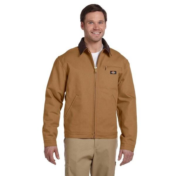 Duck Blanket Lined Men's Brown Duck Jacket
