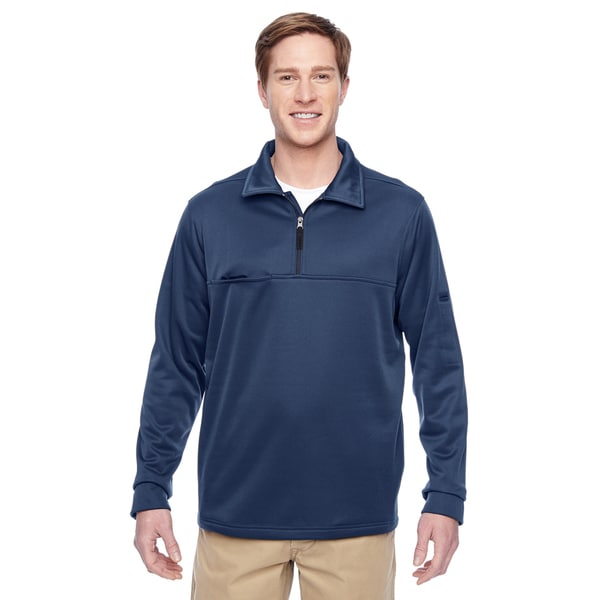 Adult Task Performance Fleece Half-Zip Men's Big and Tall Dark Navy Jacket