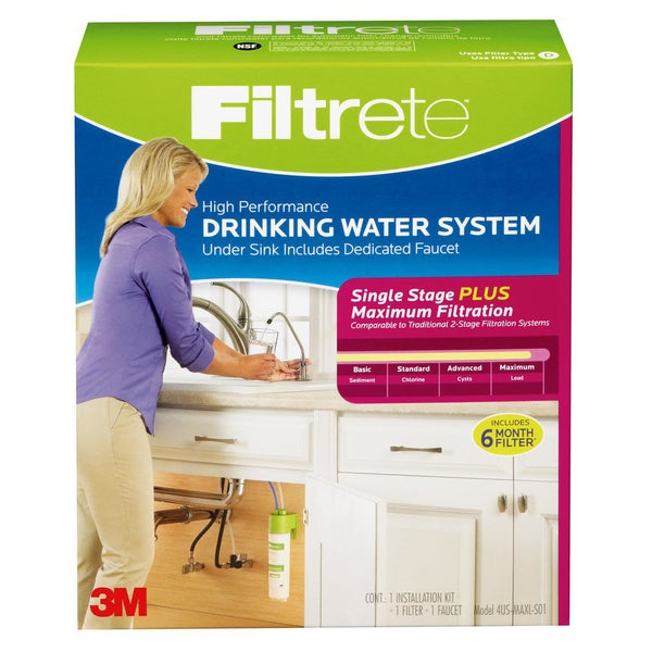 Filtrete Air Purifiers 4US-MAXL-S01 Filtrete High Performance Drinking Water System 20488022