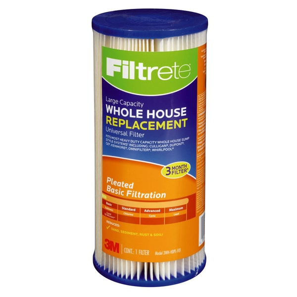 3M 3WH-HDPL-F01 Filtrete Large Capacity Whole House Pleated Filter Refill 20488113
