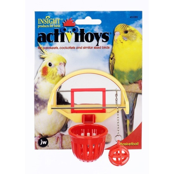JW Pet Activitoy Birdie Basketball 20488370