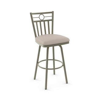 Amisco Sutton Swivel Metal Barstool
