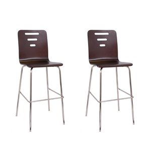 Horizon Hudson Brown Leather Bar Stool 19267596