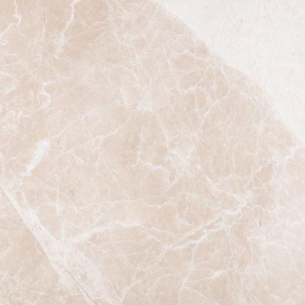 Milano Beige Marble Polished and Beveled Floor Tile