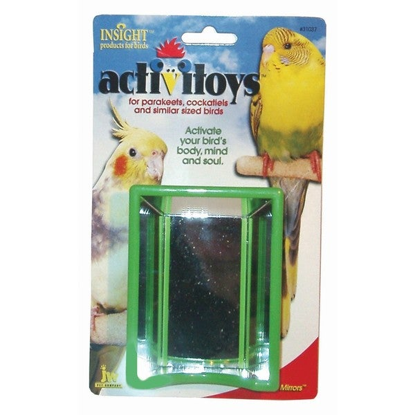 JW Pet Activitoy Hall of Mirrors TBird Toy