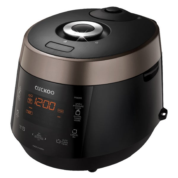 Cuckoo CRP-P0609S 6 Cup Electric Pressure Rice Cooker 20488648