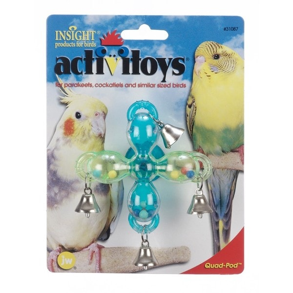 JW Pet Activitoy Quad Pod Bird Toy