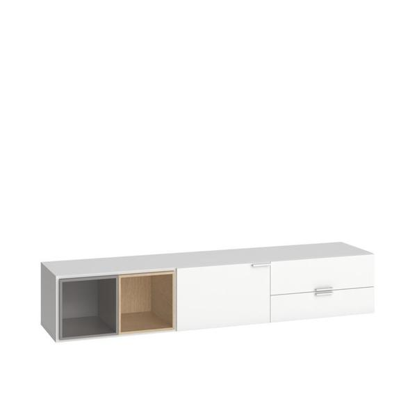 Voelkel 4You Collection White Pinewood TV Console