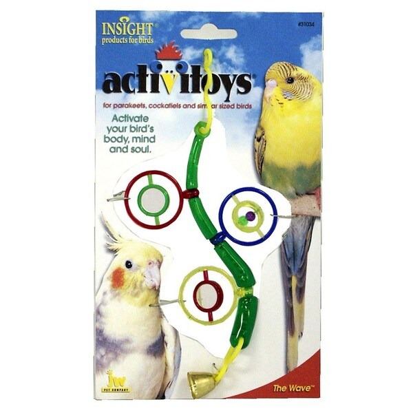 JW Pet Activitoy 'The Wave' Bird Toy