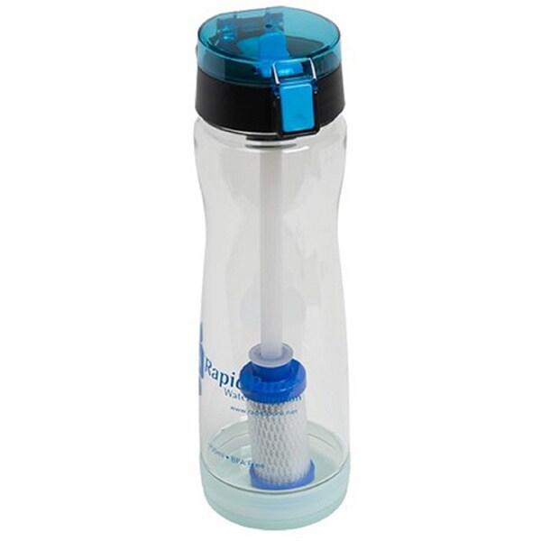 RapidPure Intrepid 750-millilieter Water Bottle With Pioneer Filter/Housing