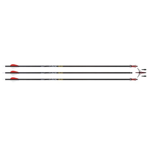 Rage Simply Lethal 2-blade Broadhead Arrows (Pack of 3)
