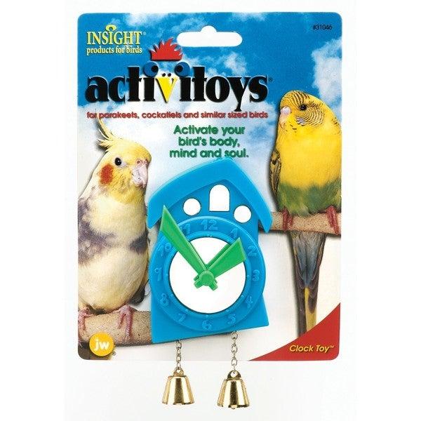 JW Pet Activitoy Clock Bird Toy 20488821