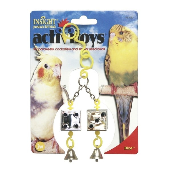 JW Pet Activitoy Dice Bird Toy