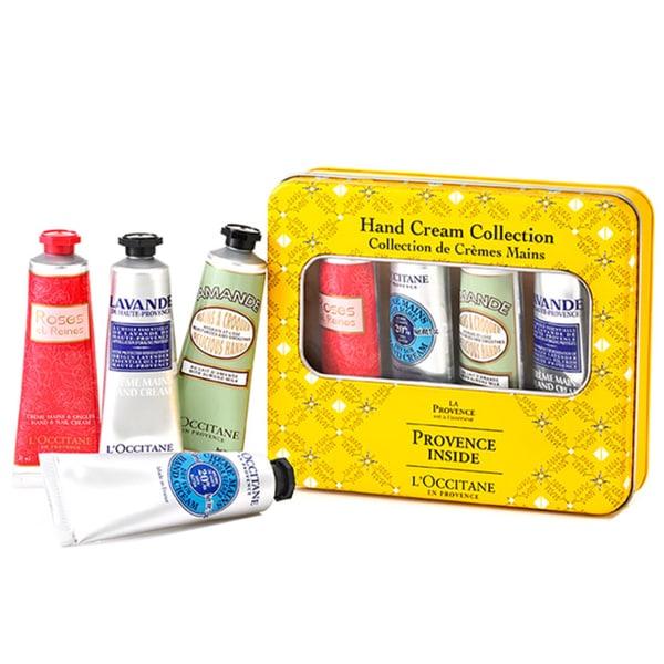 L'Occitane Provence Inside Hand Cream Collection 4-piece Set