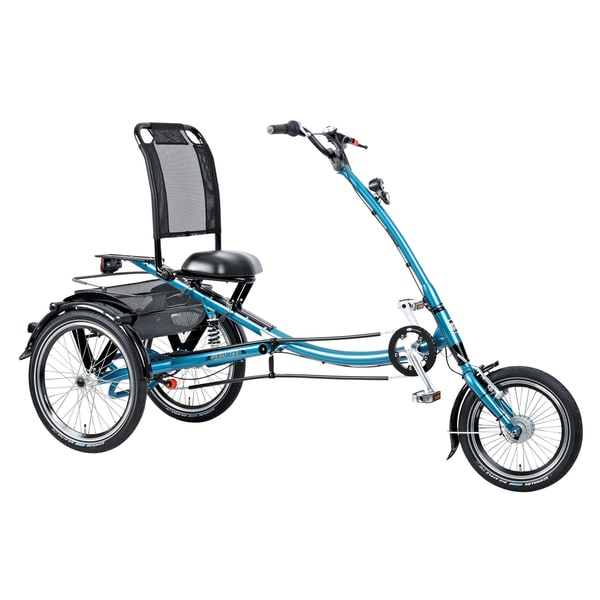 PFIFF Scooter Trike L Adult Tricycle, 16 and 20 inch wheels, Blue