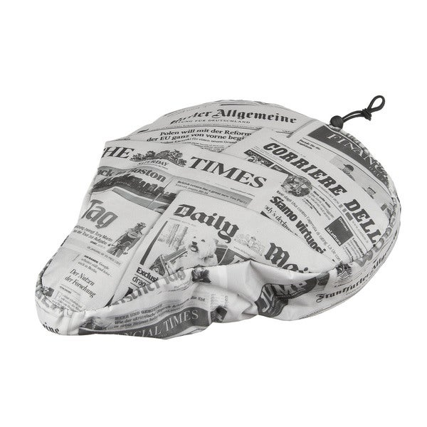Ventura Newspaper Nylon Bicycle Seat Cover