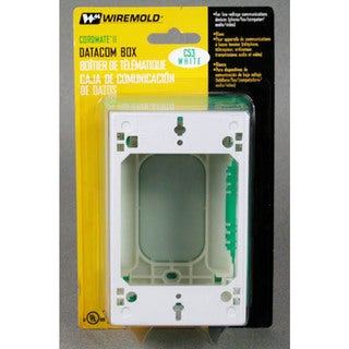 Wiremold C53 Data Communication Box