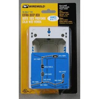 Wiremold NMW35 Single Gang Extra Deep Box