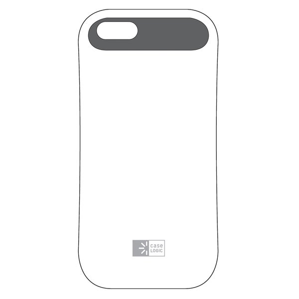 Case Logic CL5-1605 White & Gray iPhone 5 Case