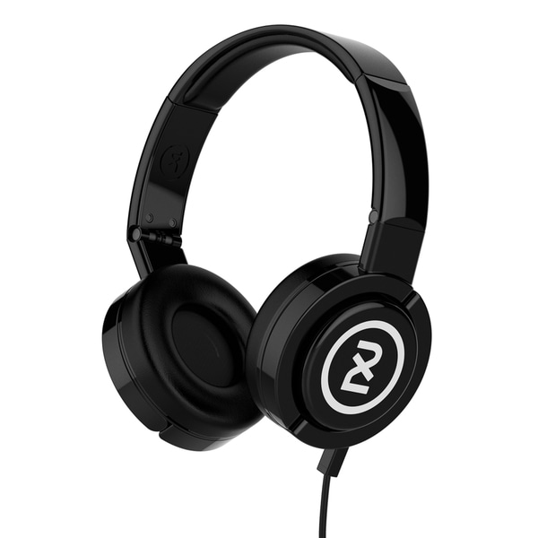 2XL X6DPHY-835 Black Barrel Over The Ear DJ Headphone With Mic