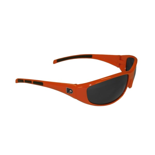 NHL Sports Team Logo Orange Philadelphia Flyers Wrap Sunglasses