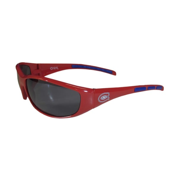 NHL Sports Team Logo Montreal Canadiens Wrap Sunglasses