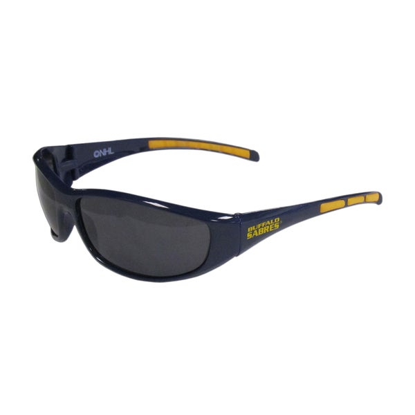 NHL Sports Team Logo Buffalo Sabres Wrap Sunglasses