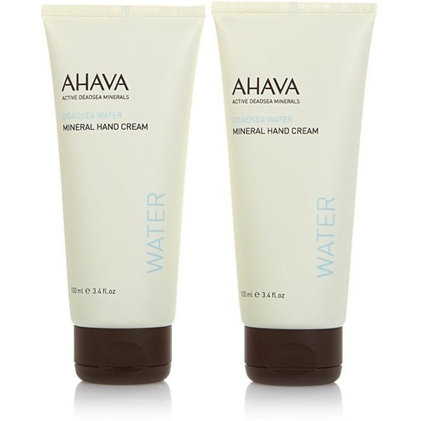 Ahava Dead Sea Water Mineral Hand Cream (Set of 2)